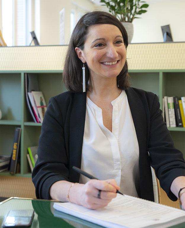 Audrey, chef d'entreprise chez Hyra Conseil