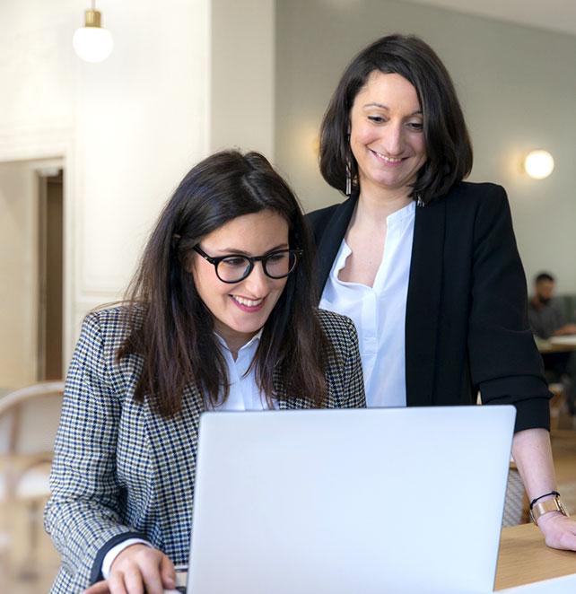 Audrey et Laura, chef d'entreprise chez Hyra Conseil