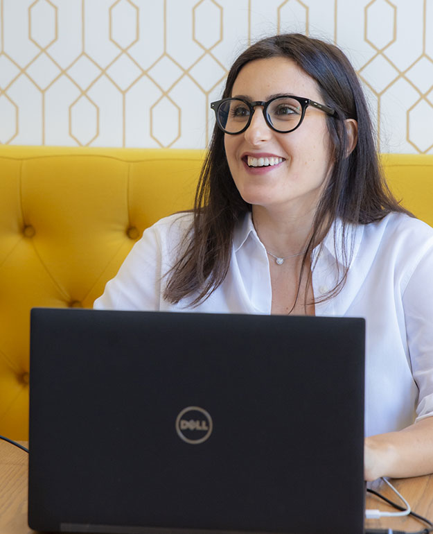 Laura, chef d'entreprise chez Hyra Conseil